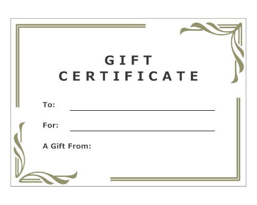 gift certificate template google docs - gift certificate brew and beyond